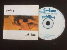 JENNIFER LOPEZ PLAY SINGLE CD