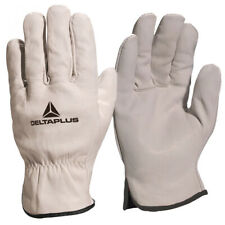 Drivers Safety Gloves Leather Full Grain Unlined Truck HGV Driver Builders Work