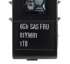 """IBM 1 TB 2,5"""" SAS Festplatte @7,2k // FRU: 81Y9691"""