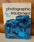 Leitz LEICA Photographic Equipment Camera Catalog Vintage 1971 book