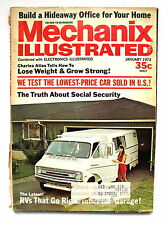 Mechanix Illustrated JANUARY 1973 Charles Atlas Lose Weight and Grow Strong