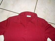 Super Shirt YESSICA Gr.XL (44/46)  rot Polokragen