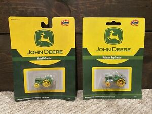 NEW Athearn John Deere 1/87th Scale Tractor Lot - Model D & Waterloo Boy NIB