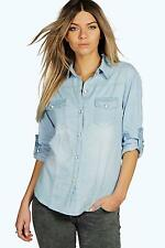 Women's Textured Casual Tops & Shirts