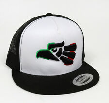 Gorra Aguila MX Mexico Snap Back Trucker Hat Black/White Adjustable