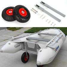 Transporträder Slipräder Schlauchbooträder für Schlauchboote Transporthilfe DHL