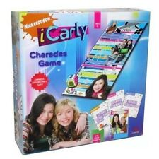 Nickelodeon iCarly Charades Game Wacky Act Out Fun Kids Board Game Boys & Girls