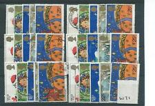 Seasonal, Christmas Used Great Britain Commemorative Stamps