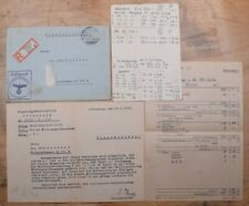 Mayfairstamps Germany 1942 Offenburg Feldpost Censored Registered Cover & Letter