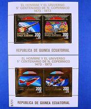 Raumfahrt Space 1973 Equatorial Guinea Kopernikus Copernikus Block 70-71 MNH/701