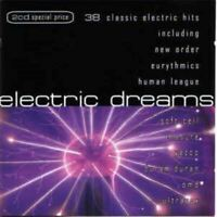 ELECTRIC DREAMS various (2X CD album, compilation) synth pop, electro, very good