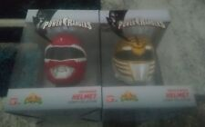 POWER RANGERS LEGACY HELMET LOT MMPR MIGHTY MORPHIN 1:4