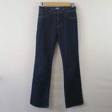 Old Navy Boys Jeans Size 14 Blue Denim Adjustable Waist Loose Boot Cut QV10