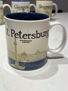 St Petersburg Starbucks Mug - 2015 Icon Edition - Collector Series Rare Find