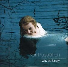 "KARI RUESLATTEN - WHY SO LONELY (500 ONLY-NUMBERED) 7"" SINGLE. ENYA. TORI AMOS."
