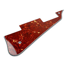 (E73) Universal Guitar Pickguard for LP Style Guitar ,4Ply Tortoise Red