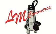 ELETTROPOMPA POMPA SOMMERGIBILE  LOWARA DOMO 15 VX per drenaggio HP 1,5 VOLT 220