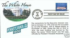 COVERSCAPE computer generated The White House FDC