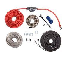 Rockford Fosgate RFK4X True AWG 4 Gauge Amplifier Wiring Kit RCA Amp Kit
