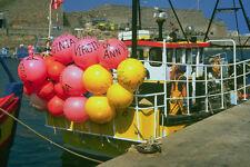 794051 Fishing Boats In Braye Harbor Alderney Channel Islands A4 Photo Print