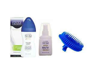 Long Hair Styling Spray Argan Oil Head Scalp Shampoo Massage Massaging Brush