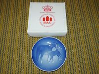 Bing & Grondahl Mothers Day Plate 1972 Horse Mors Dag Copenhagen Porcelain