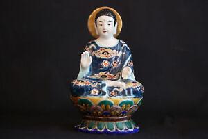Bouddha en porcelaine, Fin XIXème début XXème siècle