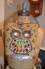 vintage enid collins texas canvas jeweled handbag shoulder purse NIGHT OWL