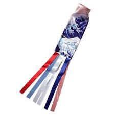 Japanese Koinbori Koi Nobori Carp Wind Sock Wave Flag Wall Decor 70cm #2
