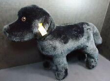 Steiff Eddie Bauer Black Lab Plush Dog 10x17