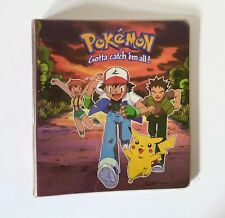 1998 Official Pokemon Card Binder - Group Shot Edition *OFFICIAL PRODUCT*