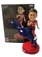 "Josh Allen (Buffalo Bills) ""Riding Buffalo"" Bobblehead Legends Of The Field NFL"