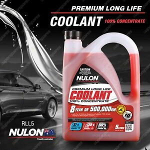 Nulon Red Long Life Concentrated Coolant 5L RLL5 5 Litres Quality Guarantee