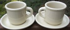 SET OF 2  Trend  Pacific   Galaxy  Wheatstone   CUP / SAUCER SETS