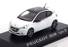 Peugeot 208 Ligne S 1:43 Norev Diecast modelcar