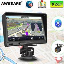 Awesafe 9Zoll GPS Navigationsgerät Auto LKW PKW Navi mit Rückkamera EU Karte