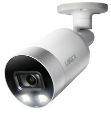 LOREX 4K Ultra HD 8MP Smart Active Deterrence Security Camera E891AB 60ft Cable