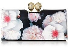 Ted Baker London Chelsea Bobble Matinee Wallet Black One Size With Florals