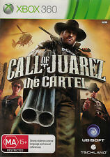 Call of Juarez The Cartel, Microsoft Xbox 360 game complete, Used,