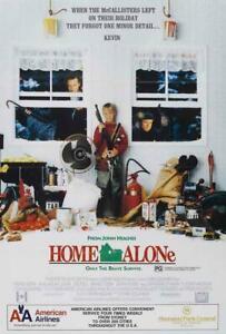 Home Alone Movie POSTER 27 x 40 Macaulay Culkin, Catherine O'Hara, Joe Pesci, E