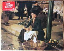 MY FAIR LADY Audrey Hepburn Jeremy Brett Aushangfoto #G