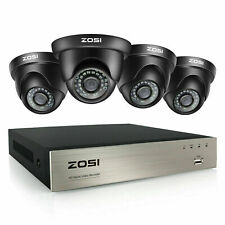 Zosi Hd 8Ch H.265 5Mp Lite Dvr 1080P Ir Outdoor Cctv Home Security Camera System