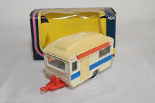 CORGI TOYS 490 TOURING CARAVAN VERY NEAR MINT BOXED