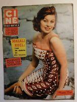 Ciné Télé-Revue n° 4 - 1960 -  MAGALI NOEL - YUL BRYNNER