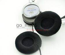 black Velour  Ear Pads For Sony MDR NC6 Noise Canceling Headphones