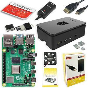 CanaKit Rasberry Pi 4 4GB RAM Starter Kit - 32 GB EVO (New)