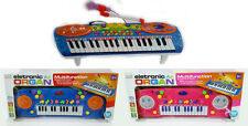 New Electronic Piano Keyboard Rockstar Type With Tune Set And Microphone Kid Toy