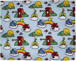 Mr Men & Little Miss Numbers Large Rotary Fleece Blanket SOFT KIDS