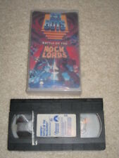 GOBOTS BATTLE OF THE ROCK LORDS VHS FEATURE LENGHT MOVIE (1986) RARE