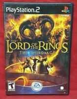 Lord of Rings Third Age PS2 Playstation 2 COMPLETE Game 1 Owner Near Mint Disc